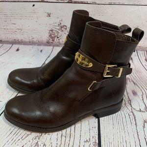 MICHAEL Michael Kors Arley Chocolate Ankle Boot